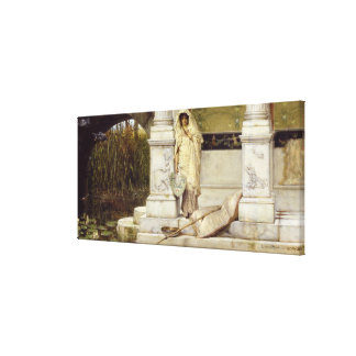 Roman Fisher Girl 1873 Stretched Canvas Prints