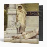 Roman Fisher Girl, 1873 Vinyl Binder