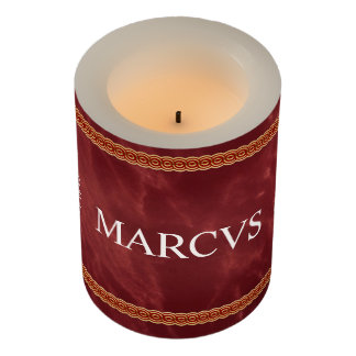 Roman Flameless Candle