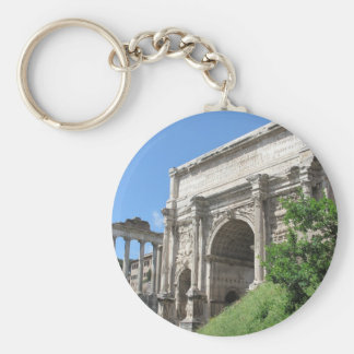Roman Forum Arch Of Titus - Rome, Italy Keychains