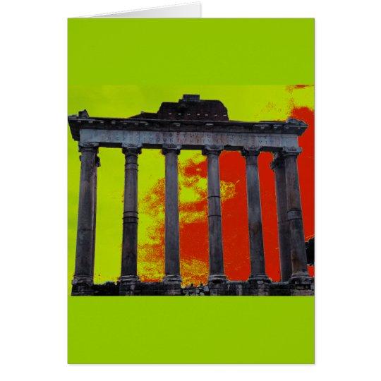 Roman Forum Art Card