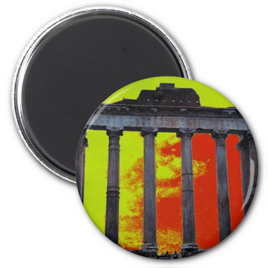 Roman Forum Art Magnet