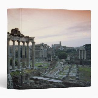 Roman Forum at dawn 3 Ring Binder