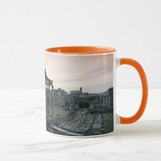 Roman Forum at dawn Mug