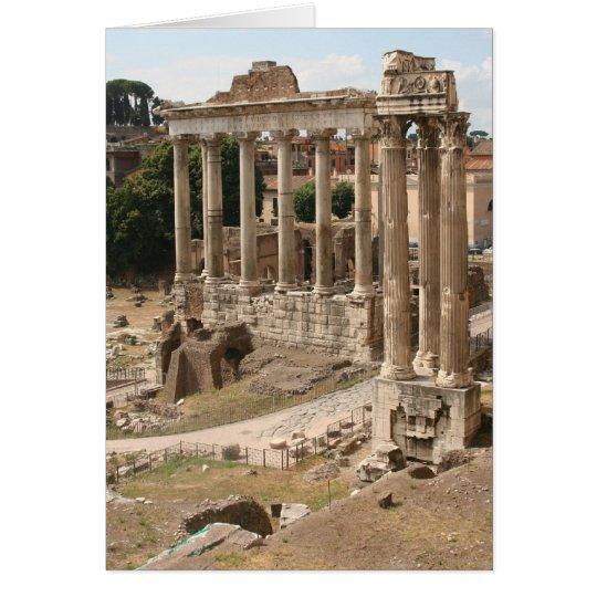Roman Forum Card
