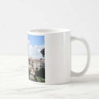 Roman Forum Church with Romanesque bell tower Coffee Mug