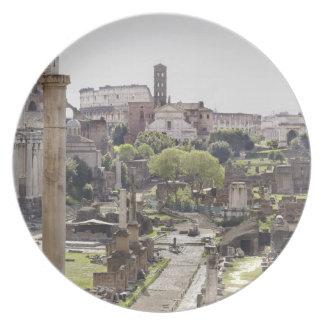 Roman Forum Dinner Plate
