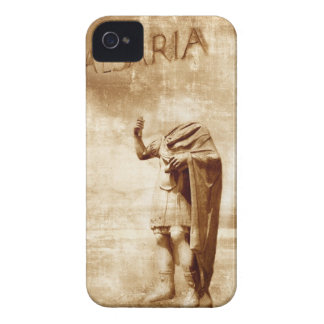 roman forum, headless statue of roman leader iPhone 4 cover