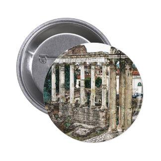 Roman Forum in Chalk Pin