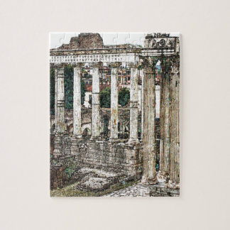 Roman Forum in Chalk Jigsaw Puzzle