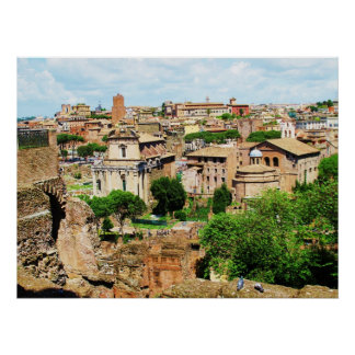 ROMAN FORUM Italy - Ruins of Rome Photo Poster