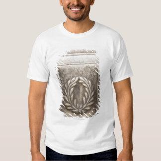 roman forum, laurel design on marble stone block shirt