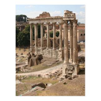Roman Forum Post Card