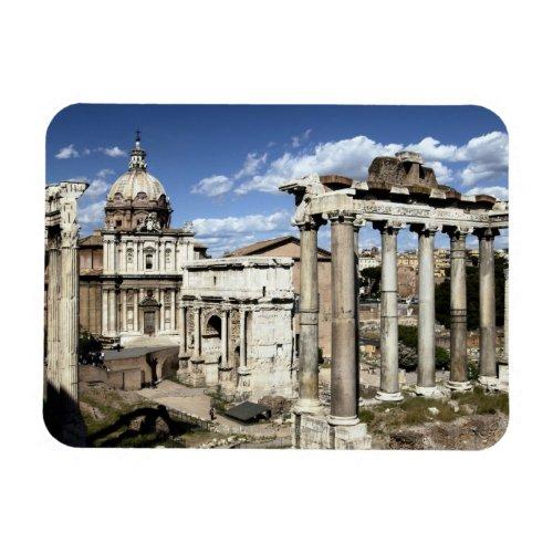 Roman Forum Rome Italy Magnet