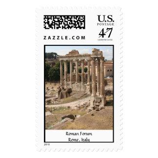 Roman Forum -  Rome, Italy Postage Stamp