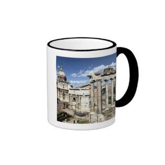 Roman Forum, Rome, Italy Ringer Coffee Mug