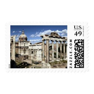 Roman Forum, Rome, Italy Stamp