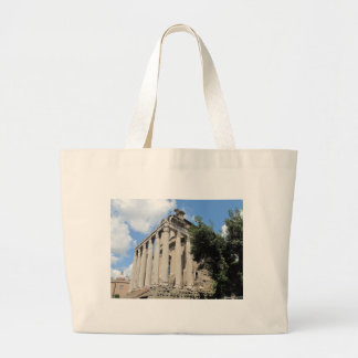Roman Forum - Temple of Antoninus Canvas Bag