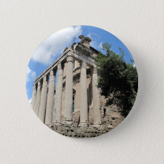 Roman Forum - Temple of Antoninus Button