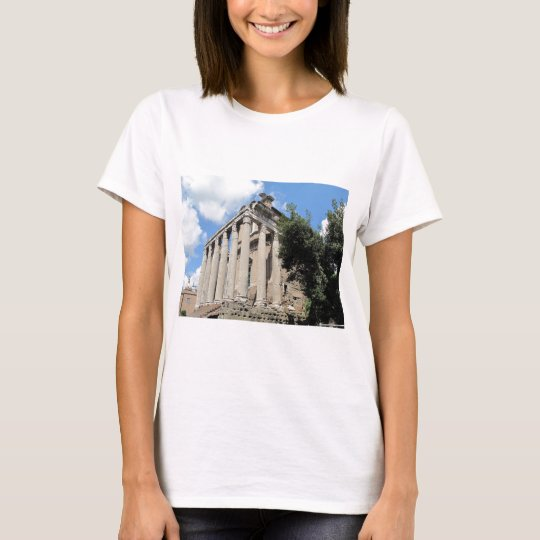 Roman Forum - Temple of Antoninus T-Shirt