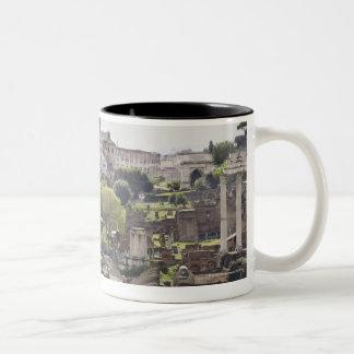 Roman Forum Two-Tone Coffee Mug
