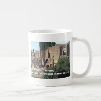 Roman Forum with Bible Vere Coffee Mug