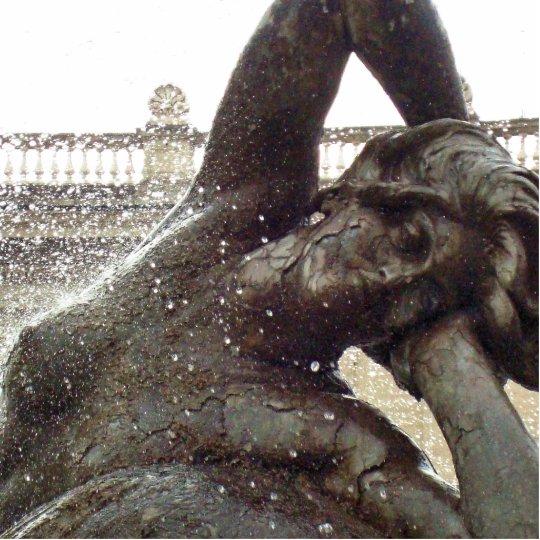 Roman Fountain Statue