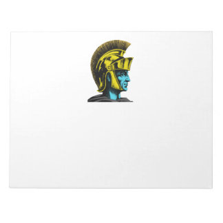 Roman Gladiator Pop Art Portrait Notepad