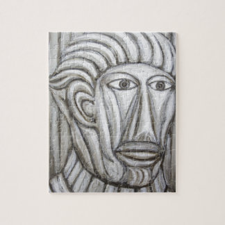 Roman Gladiator (portrait expressionism) Jigsaw Puzzles