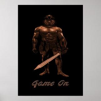 Roman Gladiator Poster