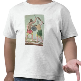 Roman Gladiators, from 'L'Antica Roma', 1825 (colo Tshirt
