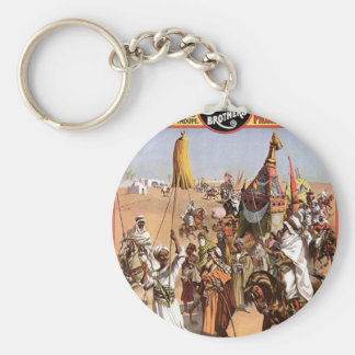 Roman Hippodrome 3 Ring Circus Vintage Theater Key Chains