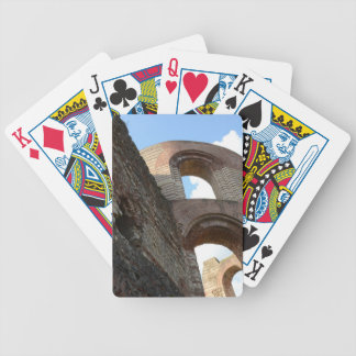 Roman Imperial Baths Trier Bicycle Playing Cards
