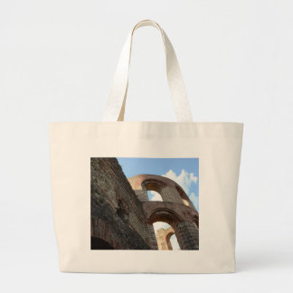 Roman Imperial Baths Trier Large Tote Bag