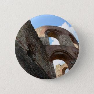 Roman Imperial Baths Trier Pinback Button
