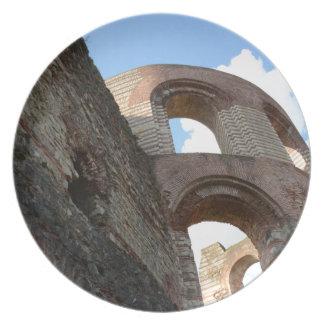 Roman Imperial Baths Trier Plate