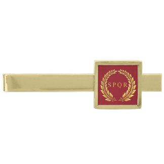 Roman Imperial SPQR Tie Clip