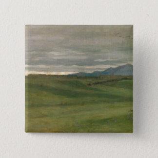 Roman Landscape Pinback Button