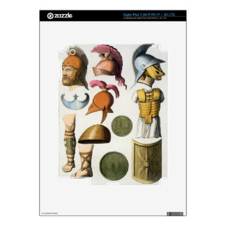 Roman military equipment, from 'Le Costume Ancien iPad 3 Decal