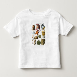 Roman military equipment, from 'Le Costume Ancien Toddler T-shirt