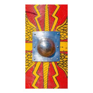 Roman Military Shield - Scutum Card