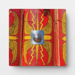 Roman Military Shield - Scutum Plaque