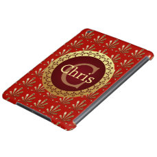Roman Monogram iPad Air Case
