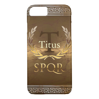Roman Monogram iPhone 7 Case