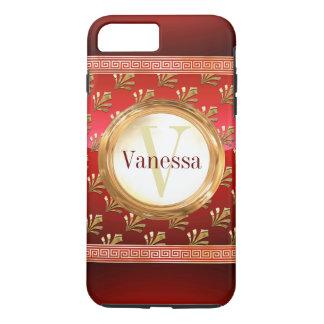 Roman Monogram iPhone 8 Plus/7 Plus Case