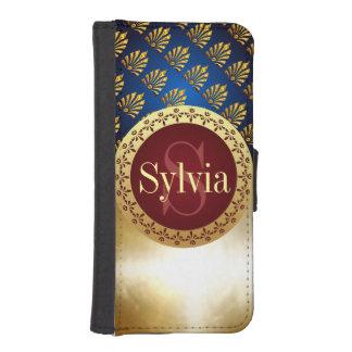 Roman Monogram iPhone SE/5/5s Wallet Case