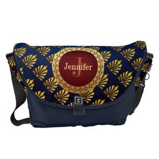 Roman Monogram Messenger Bags