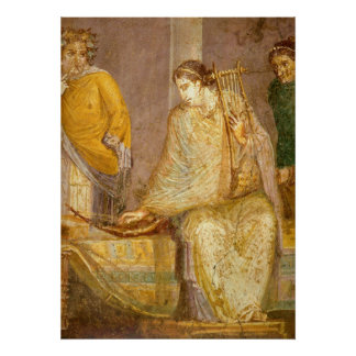 Roman Musician Print
