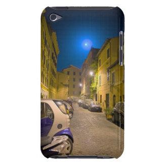 Roman neighborhood street at night barely there iPod case