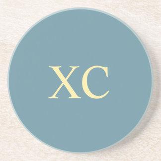 Roman Numeral 90 Coaster